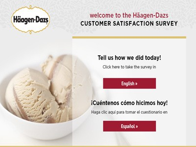 www.ratehdshops.com - Win Empathica Cash Prizes By Participating In The Häagen-Dazs Customer Satisfaction Survey Sweepstakes