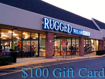 www.ruggedwearhouse.com/survey - Win One $100 Gift Card Through The Rugged Wearhouse Customer Experience Survey Sweepstakes