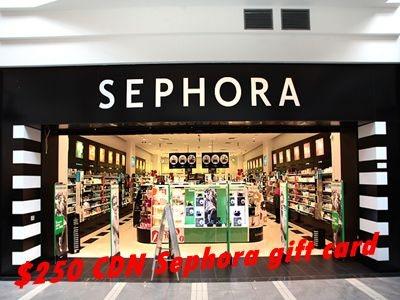 survey.medallia.com/sephora/canada Sephora Experience Survey $250 Sephora Gift Card