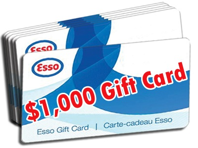 www.customersurvey.toyota.ca Win A $1,000 Or $500 Esso Gas Gift Card From Toyota Canada Customer Satisfaction Survey Contest