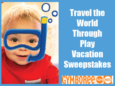 www.gymboreeclasses.com/en/sweepstakes-entry Win Gymboree $1,000 Travel The World Through Play Vacation Sweepstakes