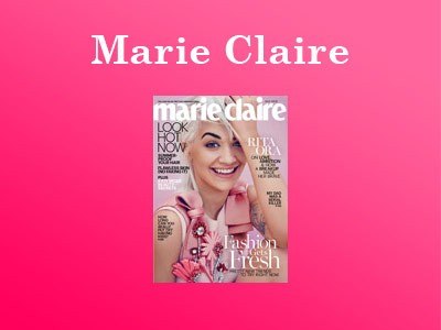 Win Marie Claire The July Cover Look Sweepstakes Beauty Products