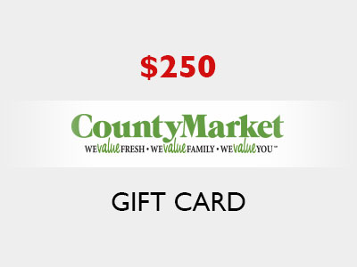 www.countymarketfeedback.com Win A $250 County Market Gift Card From County Market Customer Feedback Survey Sweepstakes