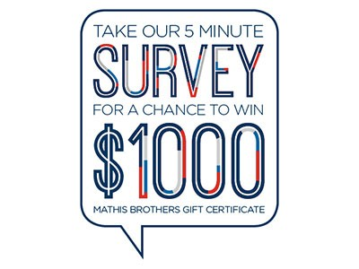 www.mathisbrothers.com/survey - Win A $1000 Mathis Brothers Gift Certificate Through Mathis Brothers Customer Service Survey Contest