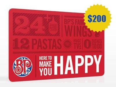 www.tellbostonpizza.com - Obtain A $200 Boston Pizza Gift Card Through Boston Pizza Guest Satisfaction Survey Contest