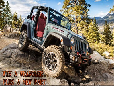 www.4wd.com/jeepgiveaway - Enter 4WD Ultimate Rugged Wrangler Jeep Giveaway Sweepstakes To Win An Ultimate Rugged Wrangler