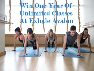 www.atlantamagazine.com/contests - Enter Atlanta Magazine Get In Shape With Exhale Avalon Contest To Win A Year's Worth Of Unlimited Classes To Exhale