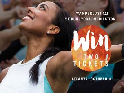 www.atlantamagazine.com/contests - Win Two Tickets To Wanderlust 108 Atlanta Through Atlanta Magazine Wanderlust Festival Contest