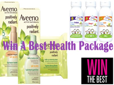 www.besthealthmag.ca/winthebest Win A Best Health Prize Package By Joining In Best Health Win The Best Contest