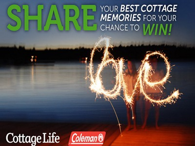 www.cottagelife.com/photocontest Enter Cottage Life's Annual Photo Contest To Win A Coleman Canopy And 4 Portable Aluminum Deck Chairs