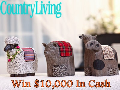 www.countryliving.com - Enter Country Living $10,000 Fast Cash Sweepstakes For Your Chance To Win The $10,000 Fast Cash