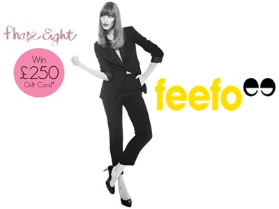 www.feefo.com/feedback/phase-eight - Enter Feefo Customer Feedback Survey Prize Draw To Win A £250 Phase Eight Shopping Voucher