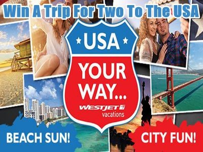 www.flightcentre.ca/contest - Vote To Win A Trip For Two To The USA Offered By Westjet Vacations Via Flight Centre USA Your Way Contest