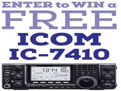 www.gigaparts.com/sweepstakes - Win A Free Icom IC-7410 Valued At $1,399 By Participating In GigaParts Icom IC-7410 Sweepstakes