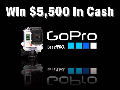 gopro.com/win - Win Video & Photo Prizes Worth $5,500 By Participating In GoPro Creator's Challenge Contest