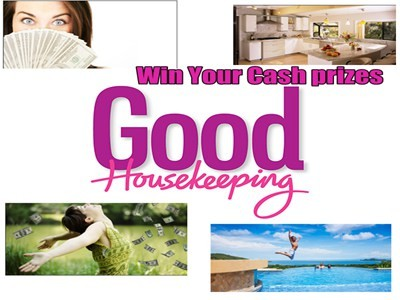 www.goodhousekeeping.com/win - Win Multiple Prizes By Participating In Good Housekeeping Sweepstakes