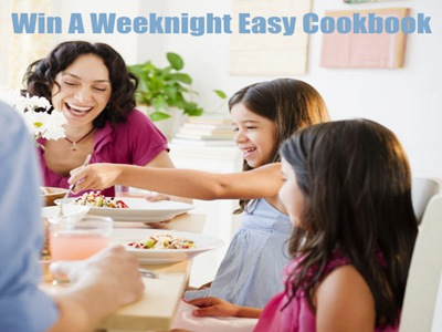 www.goodhousekeeping.com/sweepstakes Enter Good Housekeeping Family Dinner Conversation Contest To Win A Weeknight Easy Cookbook