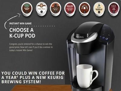 www.perfectcupsweeps.com - Win Free Coffee For A Year And A New Keuig Brewing System Via Green Mountain The Perfect Cup Sweepstakes