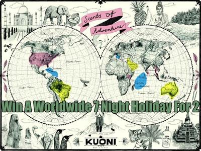 www.kuoni.co.uk/survey - Win A Luxurious Worldwide 7 Night Holiday For Two From Kuoni Online Customer Opinion Survey Prize Draw