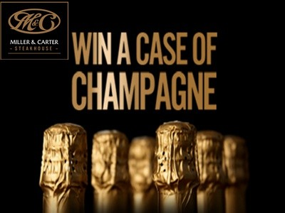 www.wewantyourviews.com - Win One Case Of Louis Dornier Champagne From Miller & Carter Customer Satisfaction Survey Contest