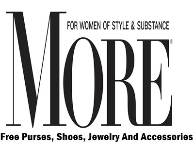 www.more.com/win - Enter More Magazine Daily Sweepstakes For A Chance To Win Purses, Shoes, Jewelry And Accessories