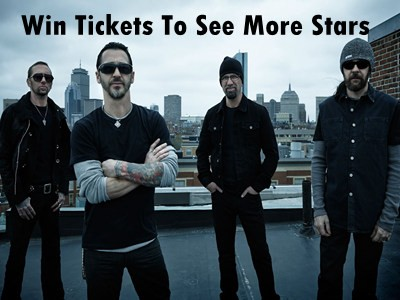 www.unionleader.com/contests - Win Tickets To See Godsmack And Other Superstars Through New Hampshire Contest