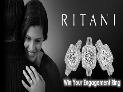 www.ritani.com/sweepstakes - Enter Ritani Engagement Ring Sweepstakes To Win Your Perfect Ring Valued Up To $5,000