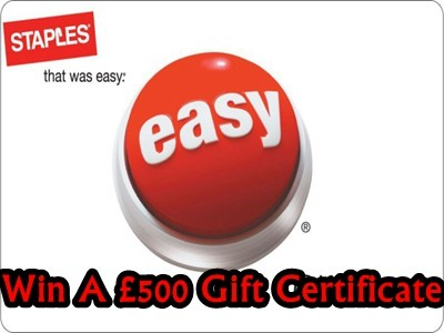 www.staples-survey.co.uk - Win A £500 Staples Gift Certificate From Staples Retail Customer Satisfaction Survey Prize Draw