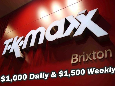 www.tkmaxxcare.com - Enter T.K. Maxx Customer Experience Survey Sweepstakes To Win Empathica Cash & A £250 T.K. Maxx Gift Card
