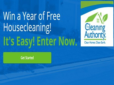 thecleaningauthority.com - Enter The Cleaning Authority Free Cleaning For A Year Giveaway Sweepstakes To Win A Year Of Free Housecleaning