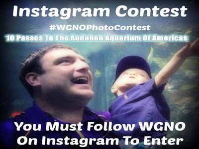 www.wgno.com/contest - Enter WGNO Audubon Aquarium of the Americas Birthday Instagram Contest To Win 10 Passes To The Audubon Aquarium Of Americas