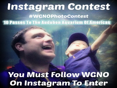 www.wgno.com/contest Enter WGNO Audubon Aquarium of the Americas Birthday Instagram Contest To Win 10 Passes To The Audubon Aquarium Of Americas
