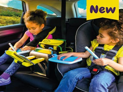 www.workingmother.com/giveaways - Win A Junkie In Car Organizer And Activity Station And A Sneck Travel Pillow System Via Working Mother BubbleBum's Junkie And Sneck Giveaway Sweepstakes