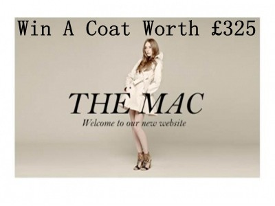 www.instyle.co.uk/competitions - Win A Beautiful Contemporary And Quality Water Resistant Coat From The Mac Worth £325 Via InStyle Competition Win A Beautiful Mac Prize Draw