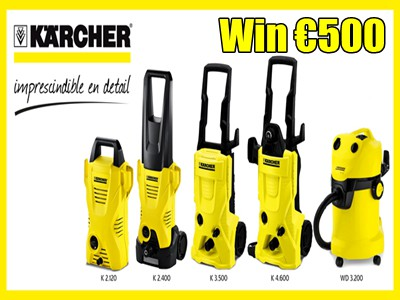 www.karcher.com/register-and-win Win €500 By Participating In Kärcher International Register And Win Sweepstakes