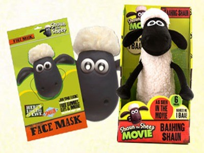 www.shaunthesheep.com/win - Win A Certificate Signed By The Creator Of Shaun Plus A Shaun Toy And Shaun The Sheep Mask Via Shaun The Sheep Art Yard Competition