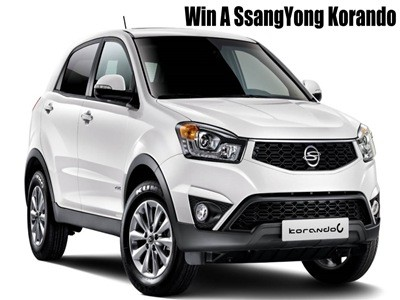 www.caravanclub.co.uk/winacar - Enter The Caravan Club SsangYong Car Giveaway Prize Draw To Win One Brand New SsangYong Korando