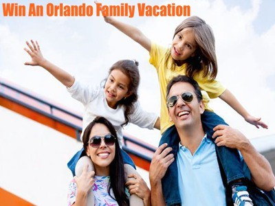 www.visitorlando.com/promo/win-a-trip - Win An Orlando Family Vacation From VisitOrlando Orlando Family Vacation Contest