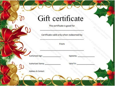 Doc750320 Gift Certificate Maker Free 1000 ideas about Free – Certificates Free Download Free Printable