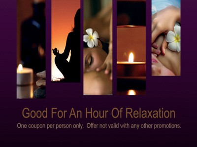free massage coupon templates