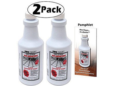 2 PACK Pro Shot Industrial Re-Newing Floor Restorer