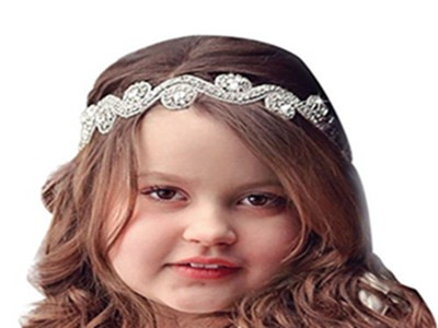 Baby Headband AutumnFall(TM) 2015 New FashionBaby Girls Kids Handmade Beaded Drill Hair Band
