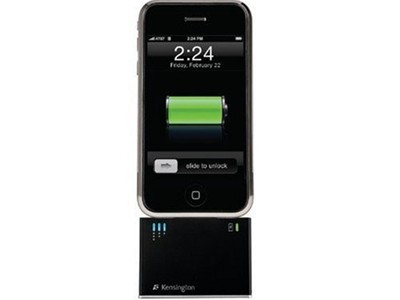 Black Friday Kensington Mini Battery Extender and Charger for iPod; iPhone 1G, 3G (Black) From 22.99