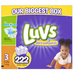 Luvs Ultra Leakguards Diapers