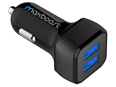 Maxboost Car Charger With Smart Port Technology