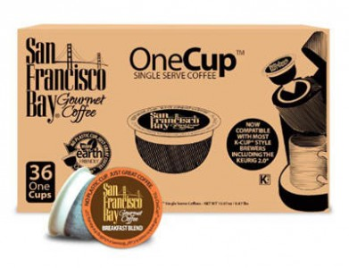 San Francisco Bay OneCup, Breakfast Blend, 36 Single Serve Coffees